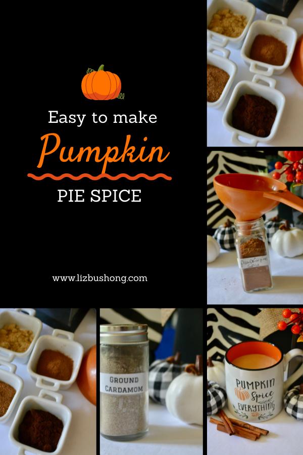 How to make pumpkin pie spice lizbushong.com