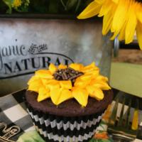 How to make sunflower cupcakes izbushong.com