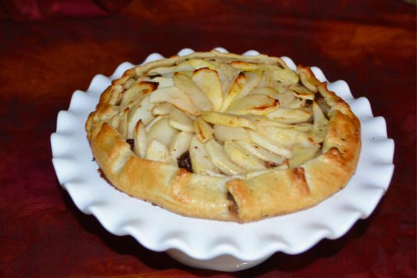 how to make pear apple galette lizbushong.com