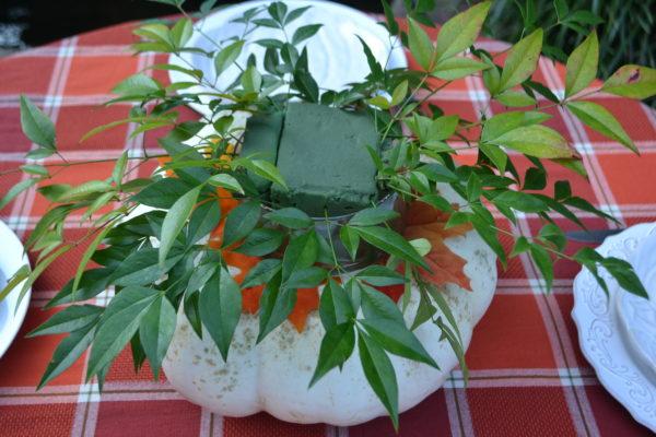 How to Make Pumpkin Floral lizbushong.com