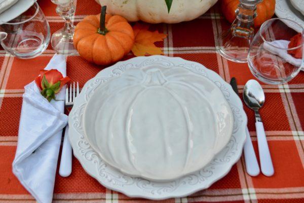 White Pumpkin placesetting, how to create lizbushong.com