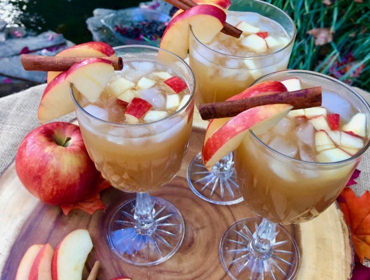 Making apple cider punch lizbushong.com